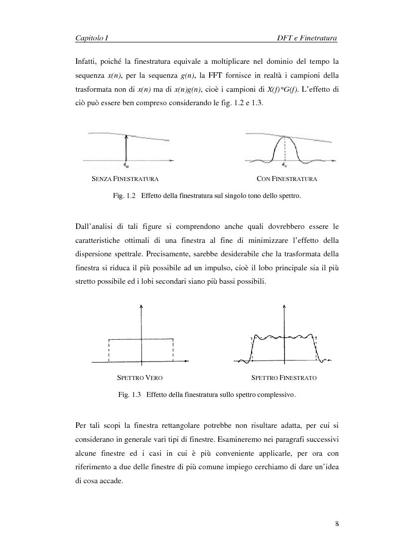 Anteprima della tesi: Stima dei parametri dei segnali nel dominio della frequenza in presenza di interferenza armonica, Pagina 8