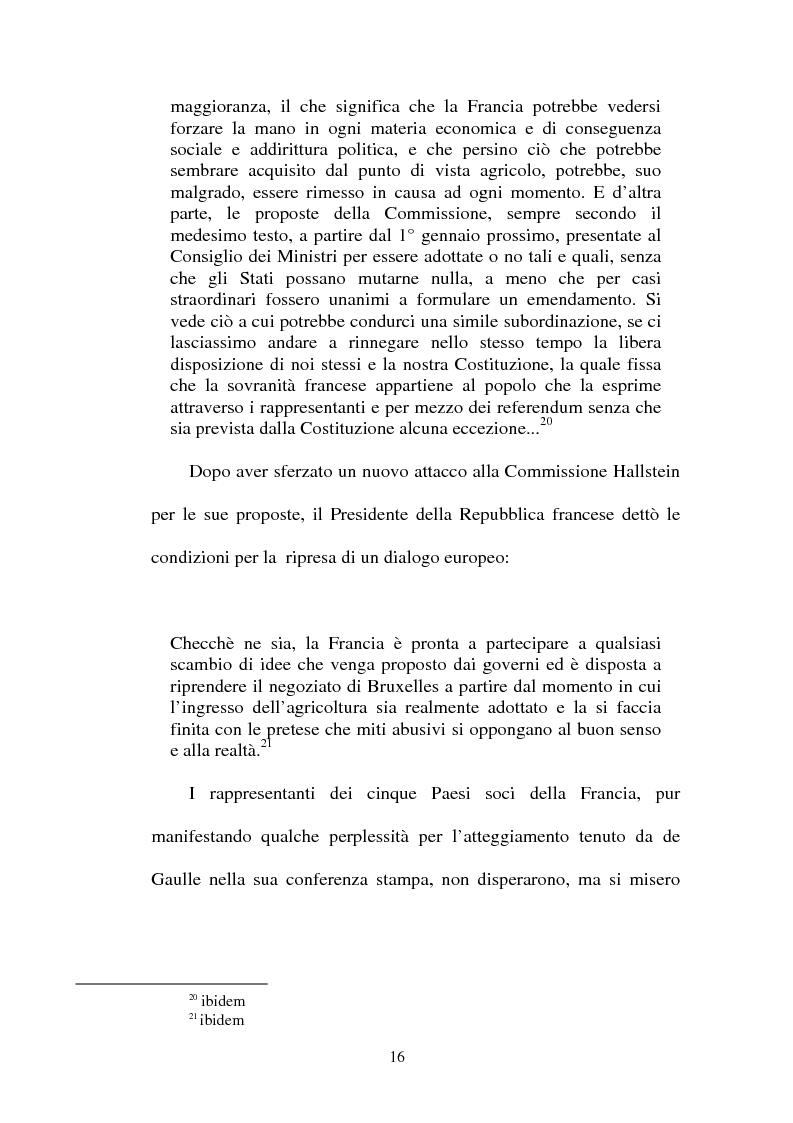 """Anteprima della tesi: La crisi della sedia vuota ne """"Il Popolo"""" e """"L'Avanti"""", Pagina 14"""