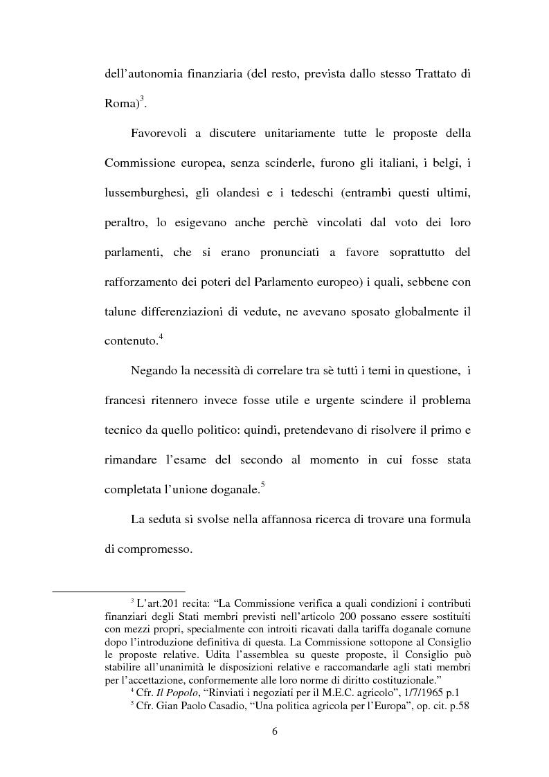"""Anteprima della tesi: La crisi della sedia vuota ne """"Il Popolo"""" e """"L'Avanti"""", Pagina 4"""