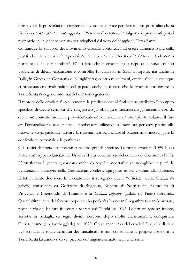 Anteprima della tesi: San Francesco alla corte del sultano. Fallimento del dialogo interreligioso all'alba del XIII secolo?, Pagina 11