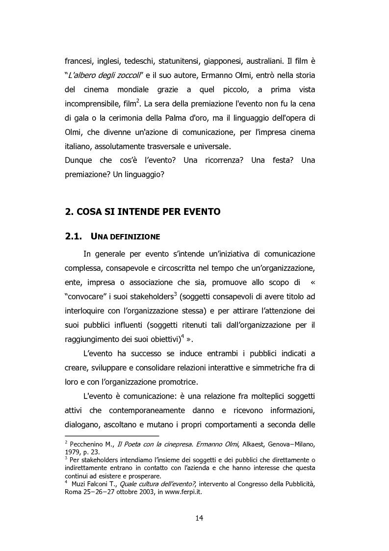 Anteprima della tesi: L'organizzazione degli eventi: Triesteantiqua Mostra-mercato dell'antiquariato, Pagina 5