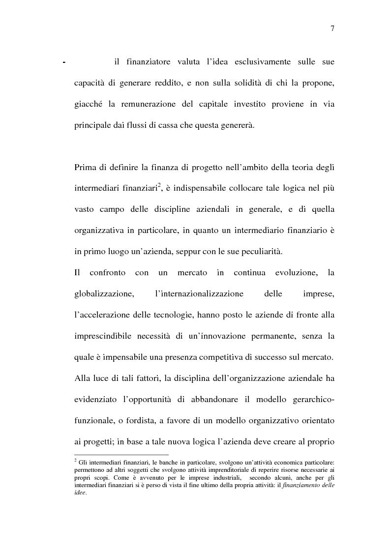 Anteprima della tesi: Il project financing e sue opportunità applicative nel Meridione, Pagina 7