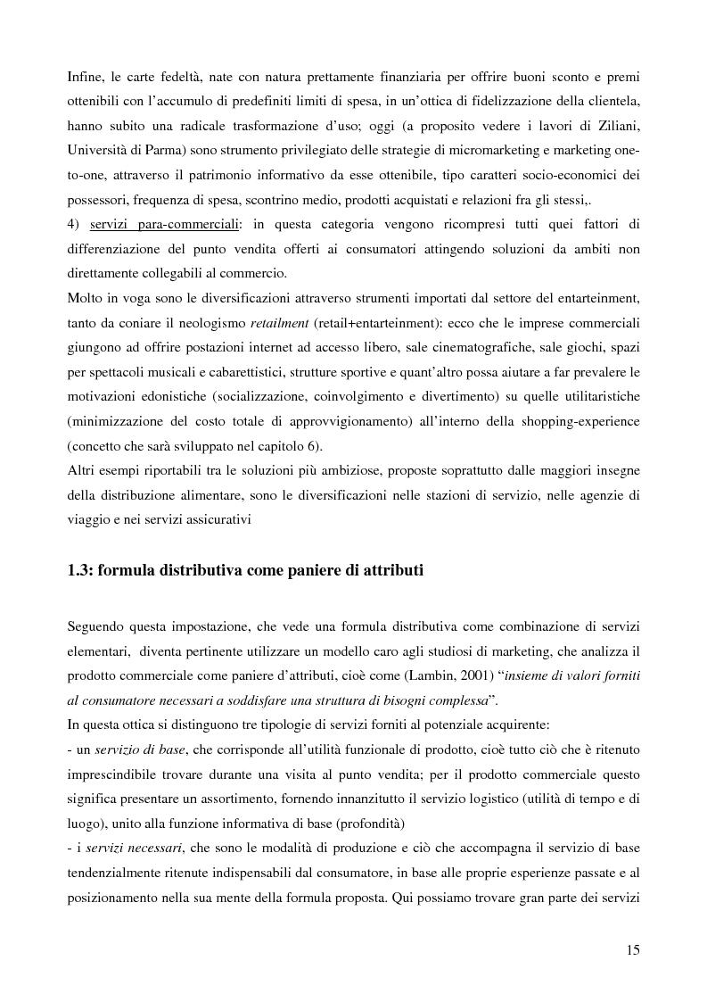 Anteprima della tesi: La grande distribuzione nel settore degli articoli sportivi: evoluzione storica e tendenze attuali, Pagina 10