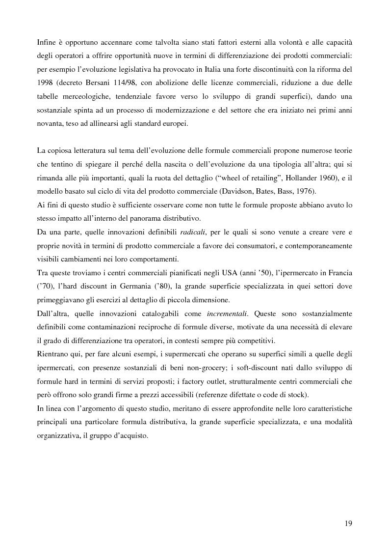 Anteprima della tesi: La grande distribuzione nel settore degli articoli sportivi: evoluzione storica e tendenze attuali, Pagina 14