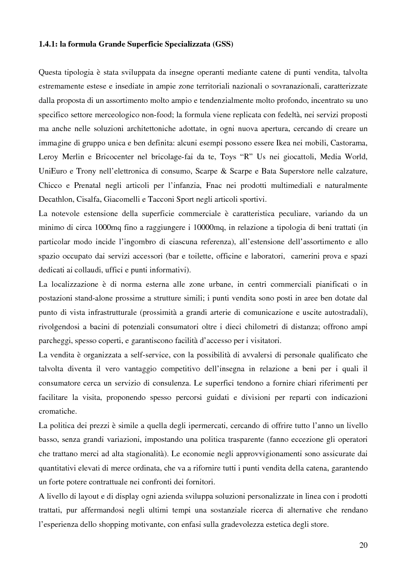 Anteprima della tesi: La grande distribuzione nel settore degli articoli sportivi: evoluzione storica e tendenze attuali, Pagina 15