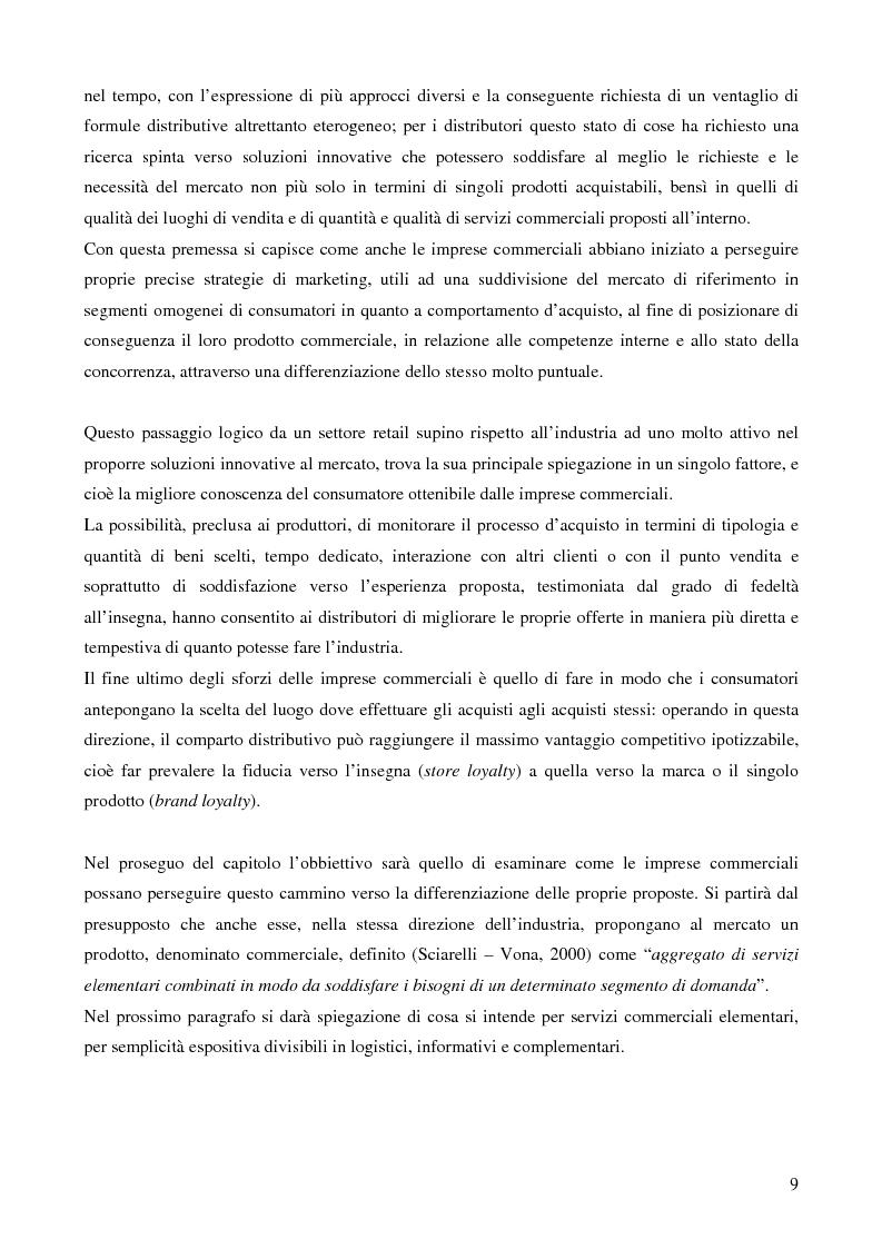 Anteprima della tesi: La grande distribuzione nel settore degli articoli sportivi: evoluzione storica e tendenze attuali, Pagina 4