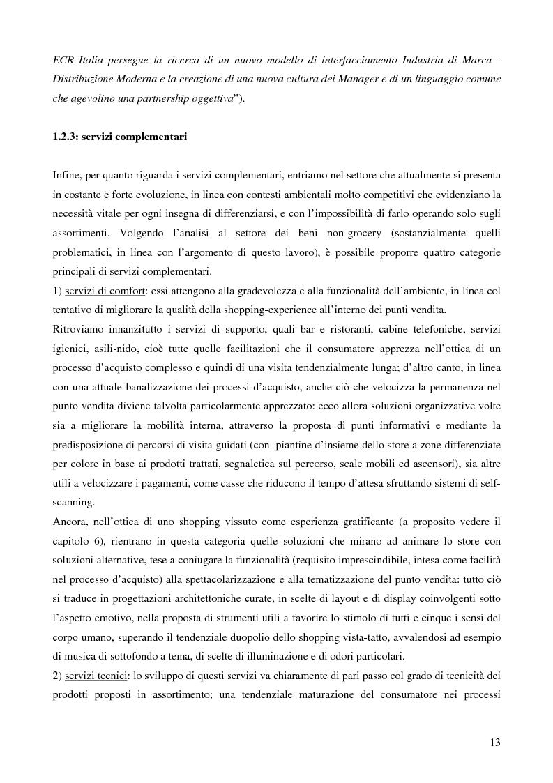 Anteprima della tesi: La grande distribuzione nel settore degli articoli sportivi: evoluzione storica e tendenze attuali, Pagina 8