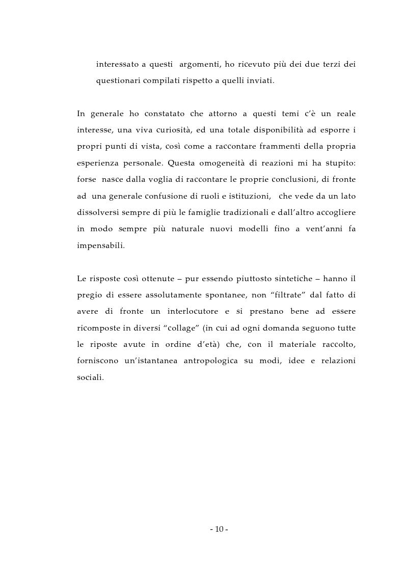 Anteprima della tesi: Aspetti antropologici della seconda transizione demografica, Pagina 10