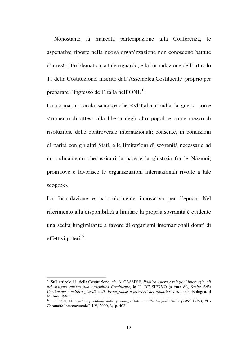 Anteprima della tesi: L'Italia, l'Onu e la decolonizzazione, Pagina 11