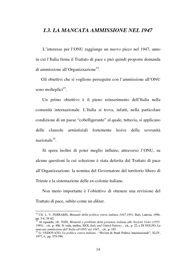 Anteprima della tesi: L'Italia, l'Onu e la decolonizzazione, Pagina 12
