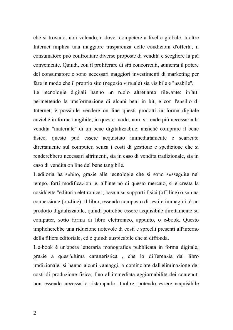 Anteprima della tesi: Analisi e strategie di marketing per lo sviluppo dell'e-book: fondamenti teorici ed evidenze empiriche, Pagina 11