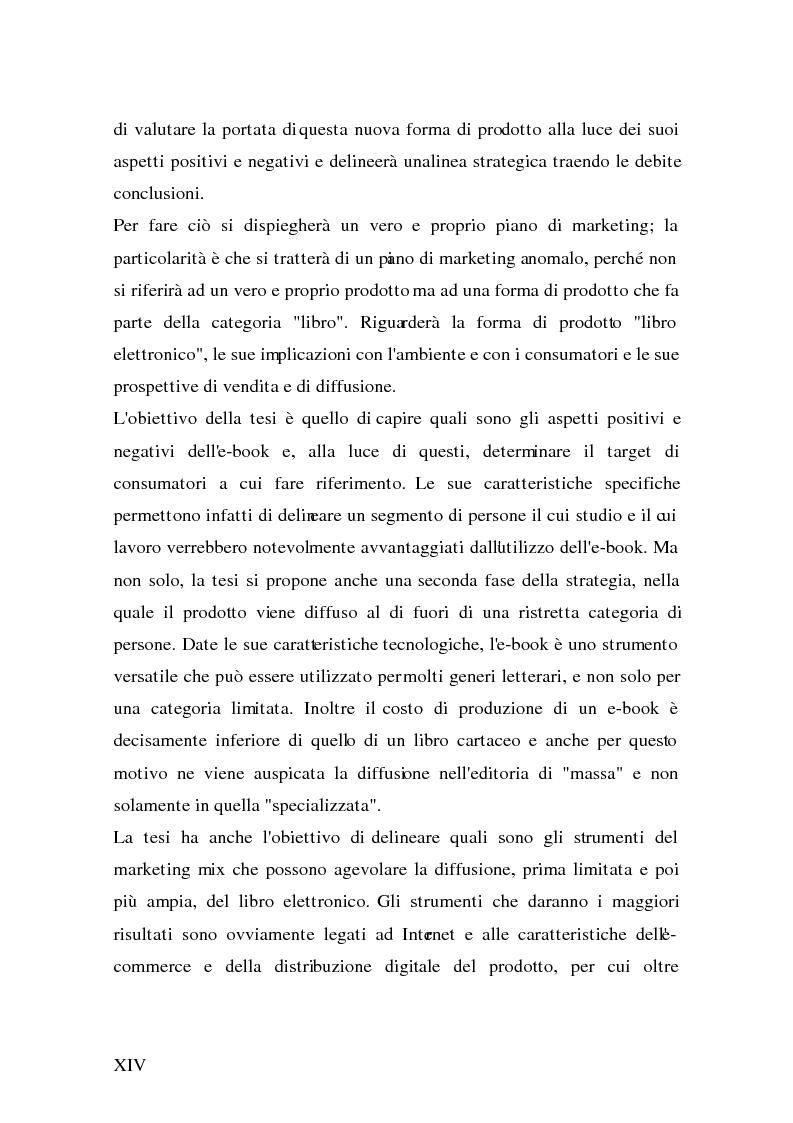 Anteprima della tesi: Analisi e strategie di marketing per lo sviluppo dell'e-book: fondamenti teorici ed evidenze empiriche, Pagina 6