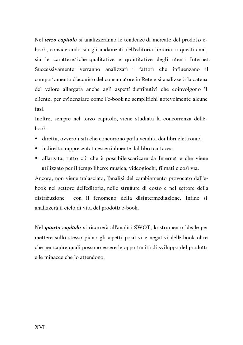 Anteprima della tesi: Analisi e strategie di marketing per lo sviluppo dell'e-book: fondamenti teorici ed evidenze empiriche, Pagina 8