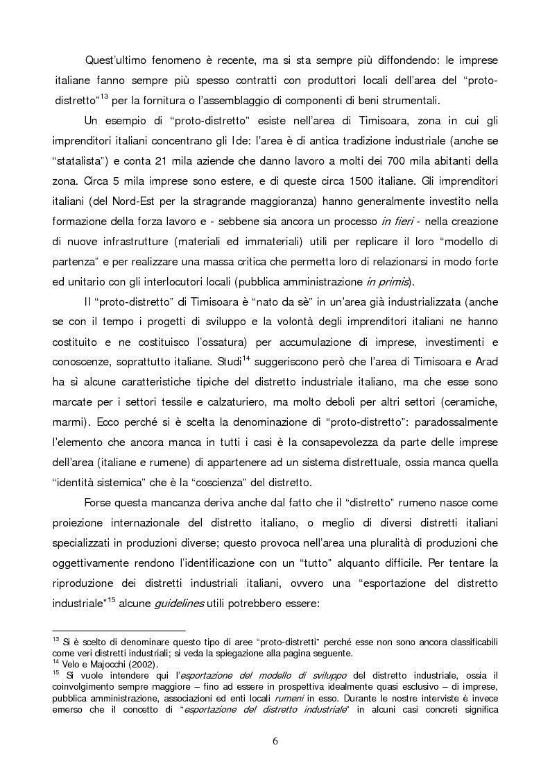 Anteprima della tesi: Gli investimenti diretti esteri in Romania: il ruolo degli investitori italiani, Pagina 6