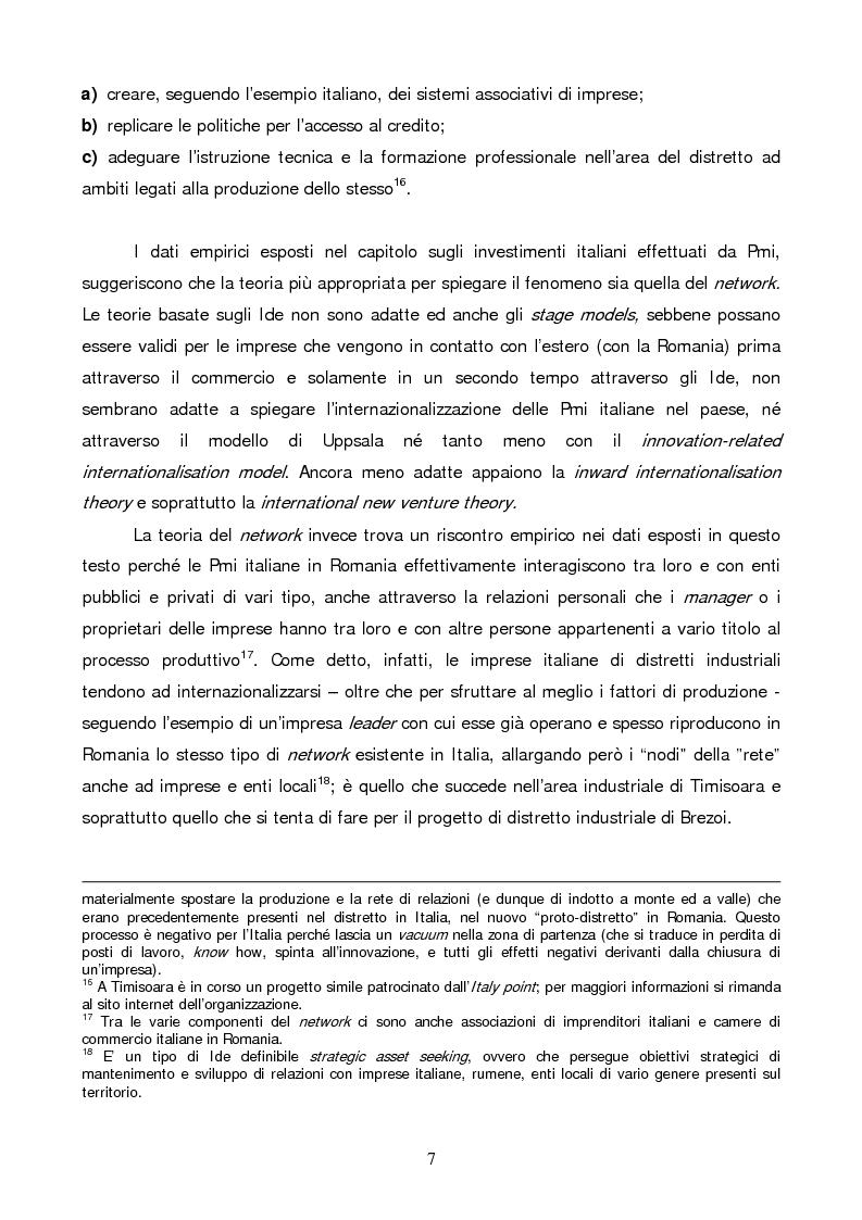 Anteprima della tesi: Gli investimenti diretti esteri in Romania: il ruolo degli investitori italiani, Pagina 7