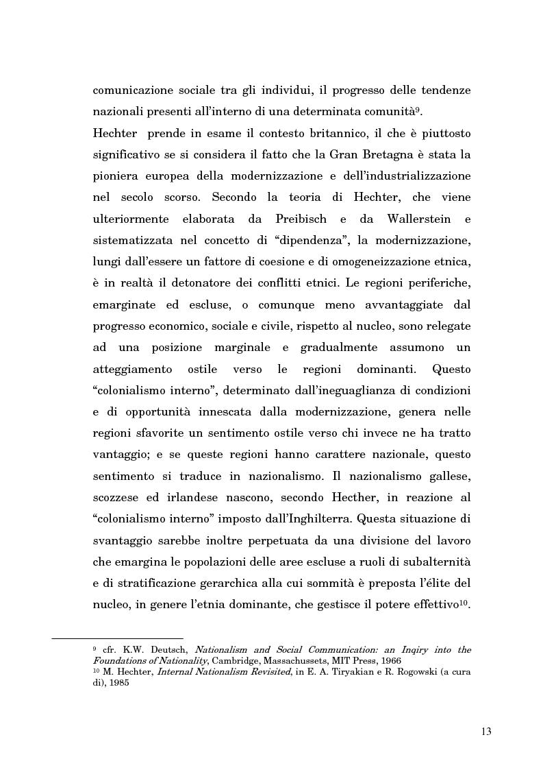 Anteprima della tesi: Nazionalismo ed autodeterminazione: il caso basco nel contesto europeo, Pagina 13