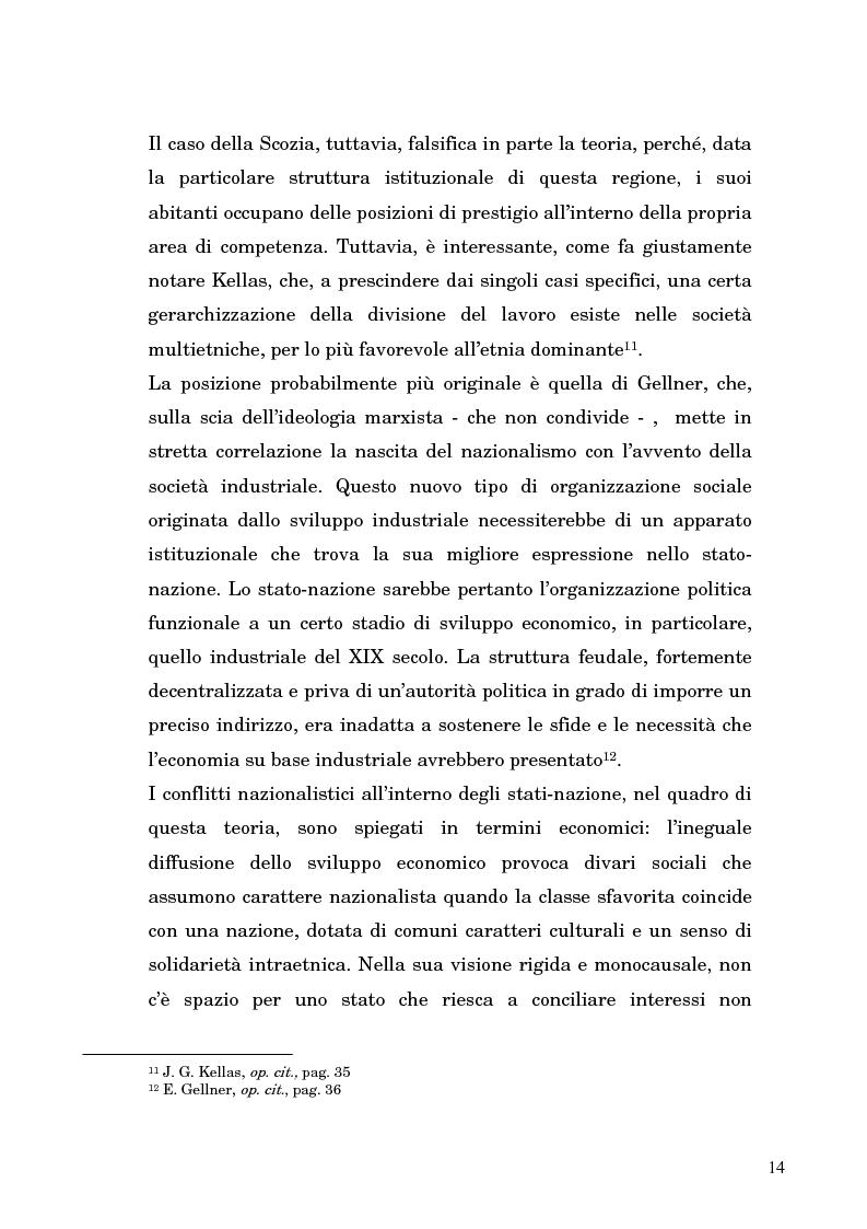 Anteprima della tesi: Nazionalismo ed autodeterminazione: il caso basco nel contesto europeo, Pagina 14