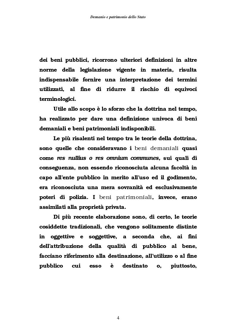 Anteprima della tesi: Demanio e patrimonio pubblici. Gli elementi della rifoma, aspetti fiscali e tributari, Pagina 2