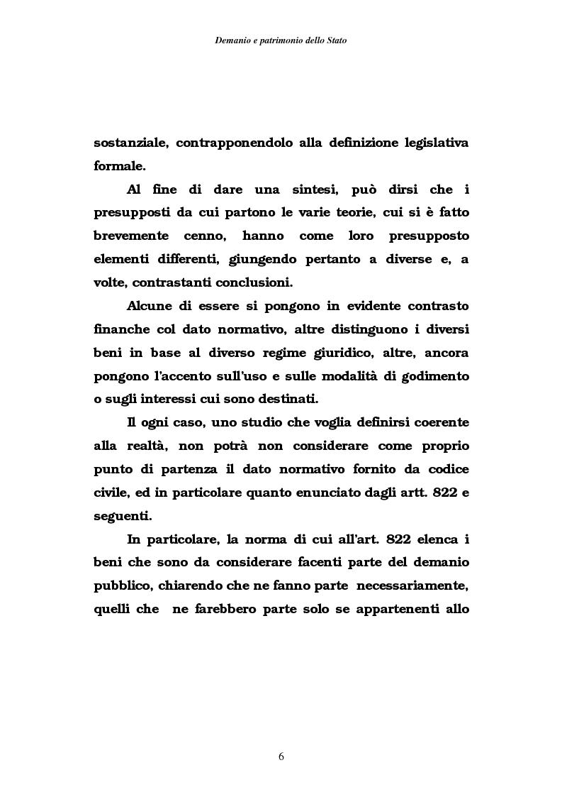 Anteprima della tesi: Demanio e patrimonio pubblici. Gli elementi della rifoma, aspetti fiscali e tributari, Pagina 4