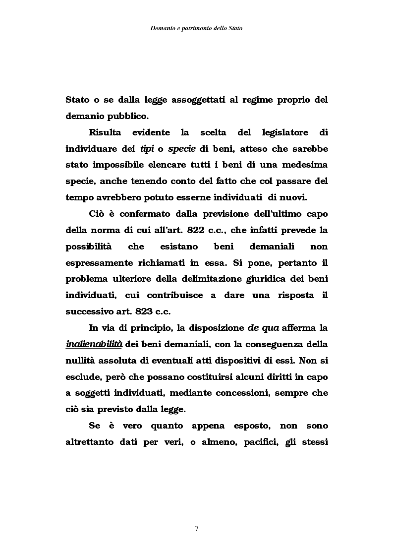 Anteprima della tesi: Demanio e patrimonio pubblici. Gli elementi della rifoma, aspetti fiscali e tributari, Pagina 5
