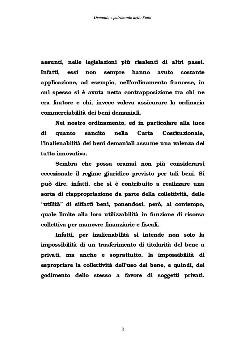 Anteprima della tesi: Demanio e patrimonio pubblici. Gli elementi della rifoma, aspetti fiscali e tributari, Pagina 6