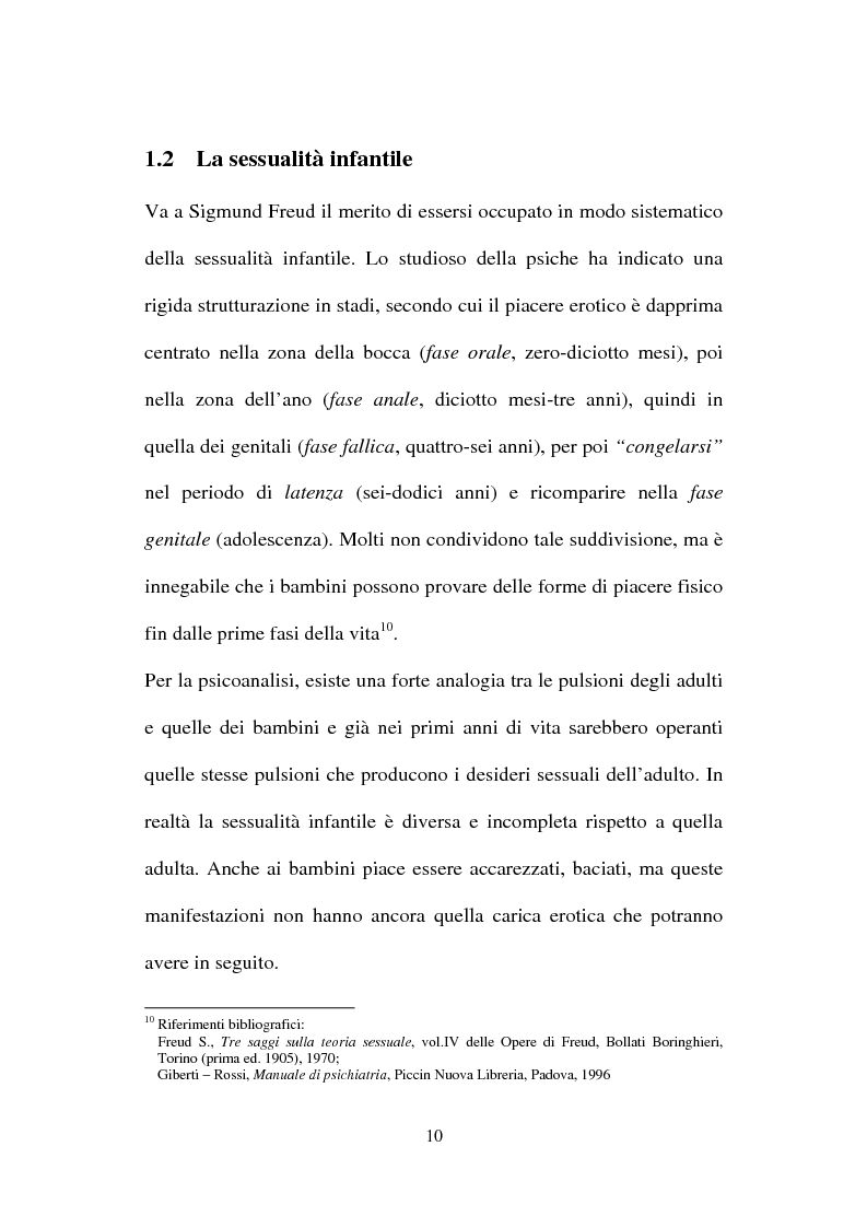 Anteprima della tesi: La nuova normativa penale contro la pedofilia, Pagina 10