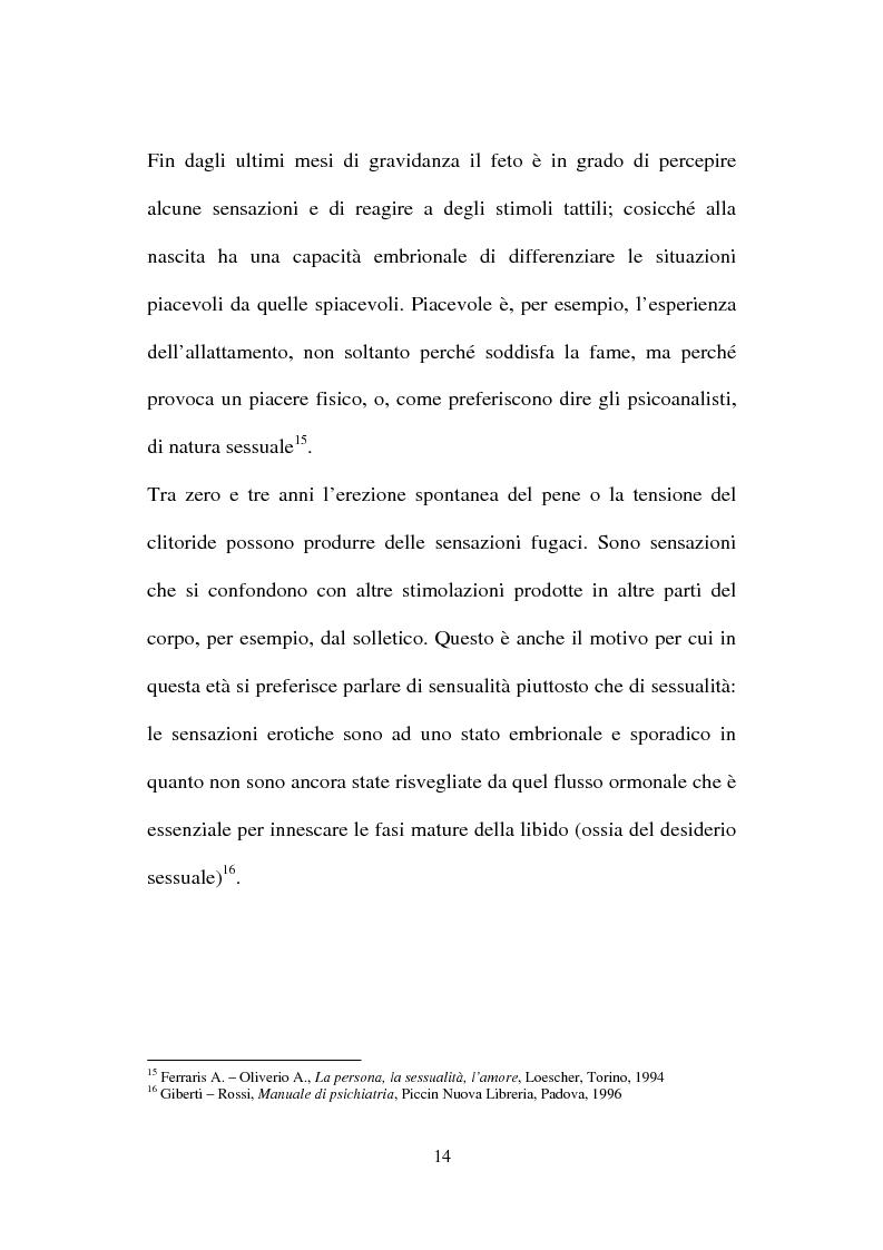 Anteprima della tesi: La nuova normativa penale contro la pedofilia, Pagina 14