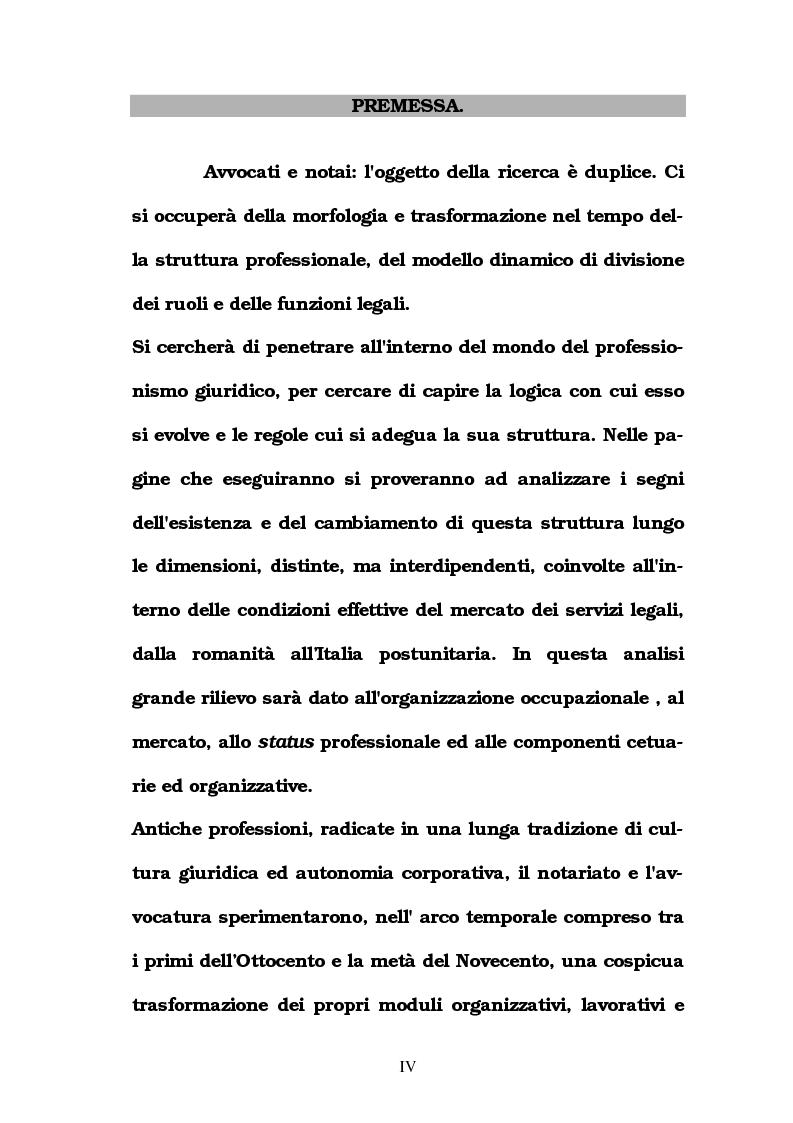 Anteprima della tesi: Le professioni legali in Italia in Età Liberale, Pagina 1