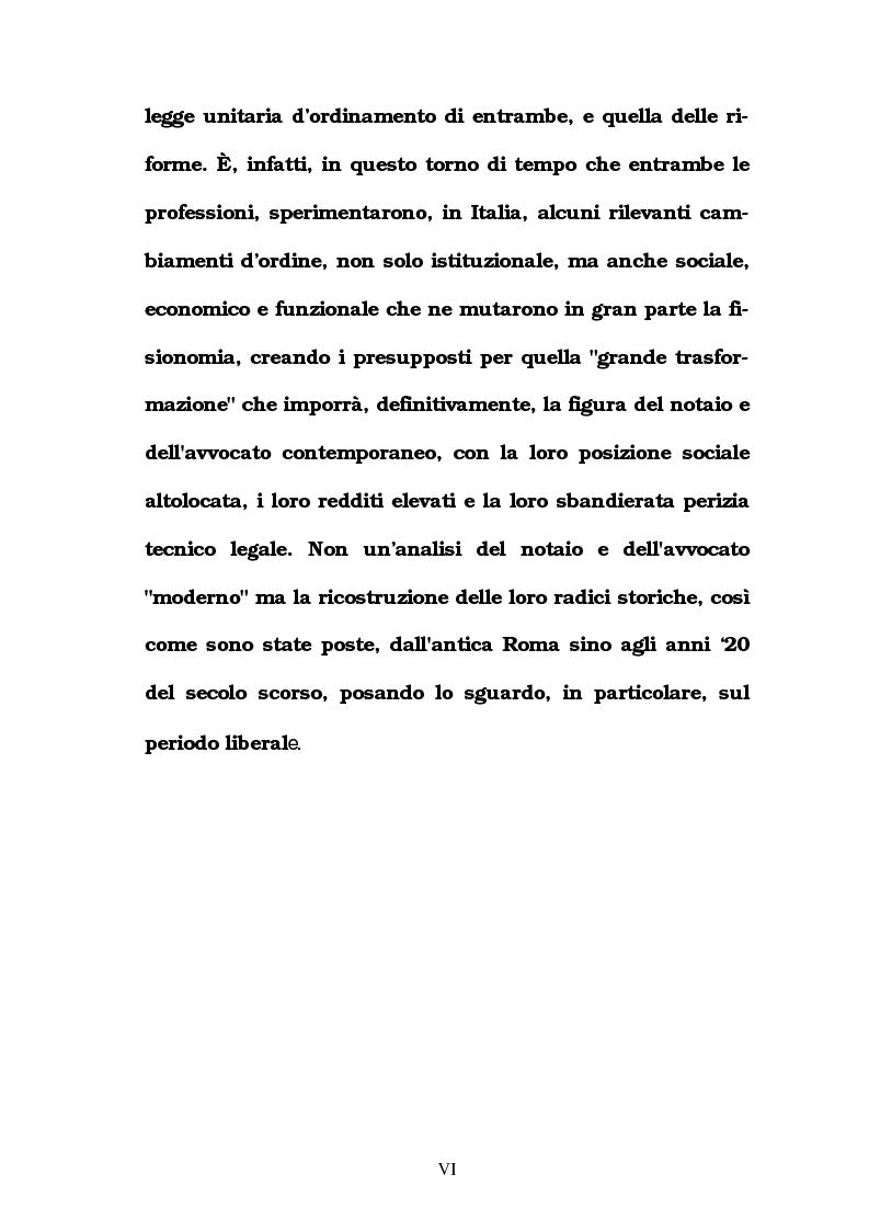 Anteprima della tesi: Le professioni legali in Italia in Età Liberale, Pagina 3