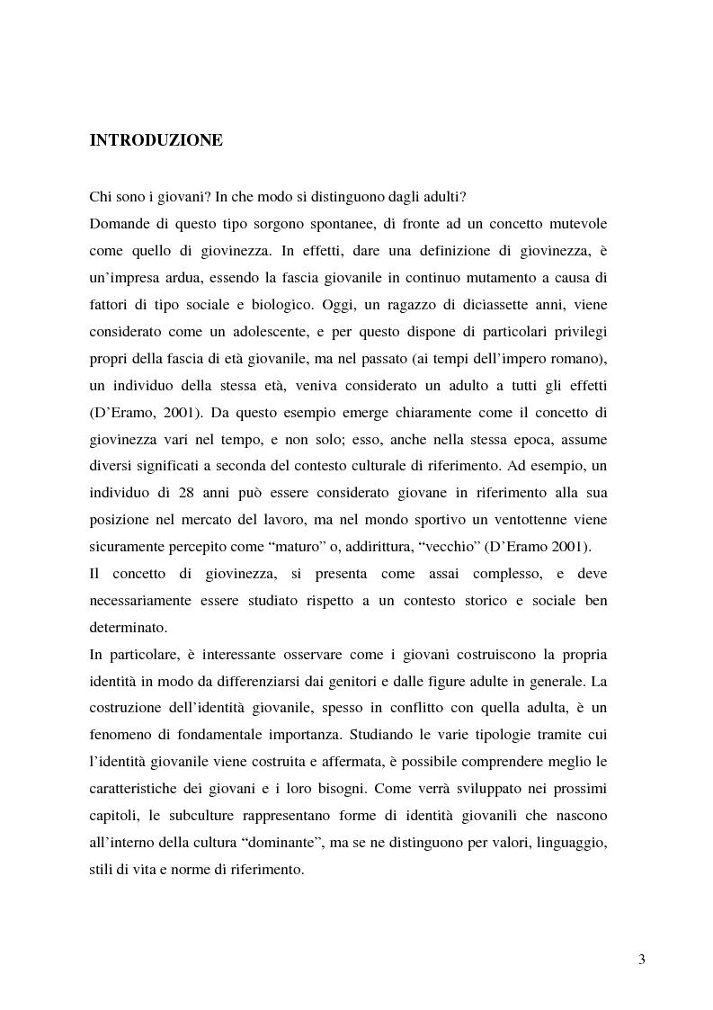 Anteprima della tesi: Identità giovanile e aggregazione antagonista: il caso della scena rave a Milano, Pagina 1