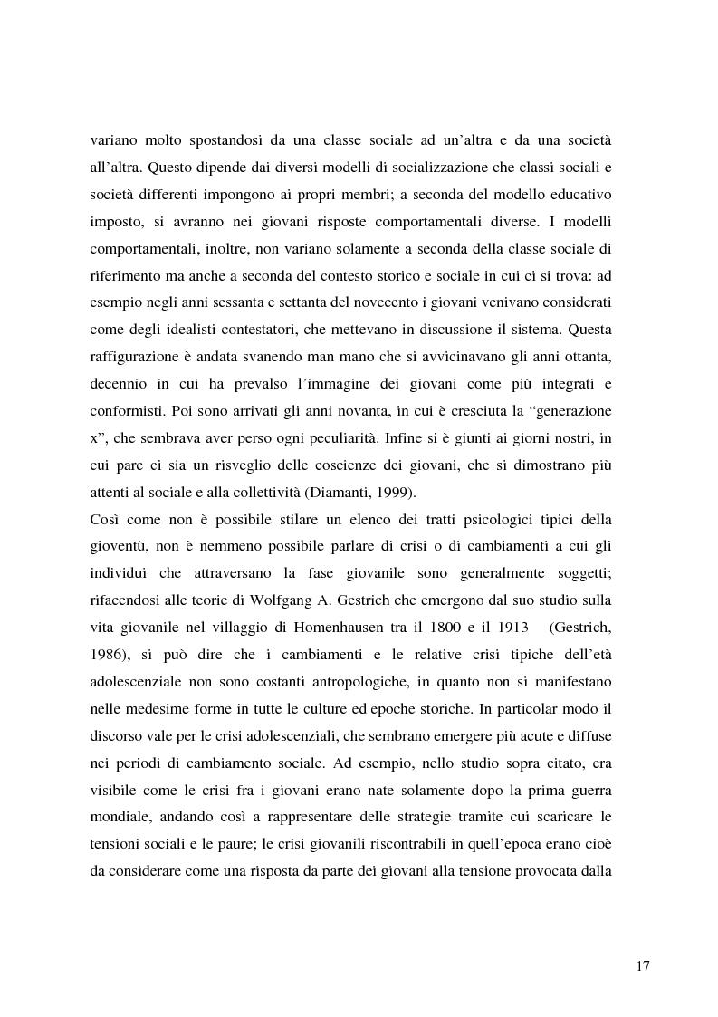 Anteprima della tesi: Identità giovanile e aggregazione antagonista: il caso della scena rave a Milano, Pagina 15