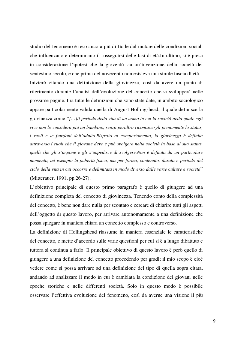 Anteprima della tesi: Identità giovanile e aggregazione antagonista: il caso della scena rave a Milano, Pagina 7