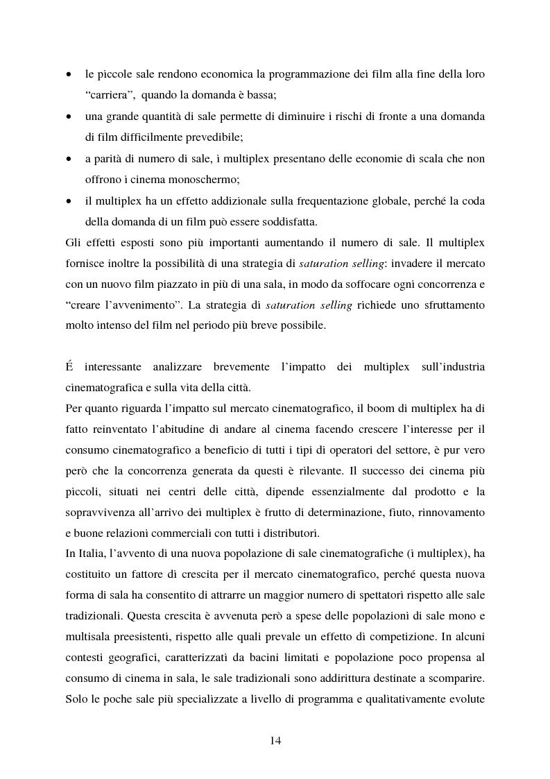 Anteprima della tesi: L'impiego delle nuove tecnologie per la promozione dell'esercizio cinematografico in Europa, Pagina 10
