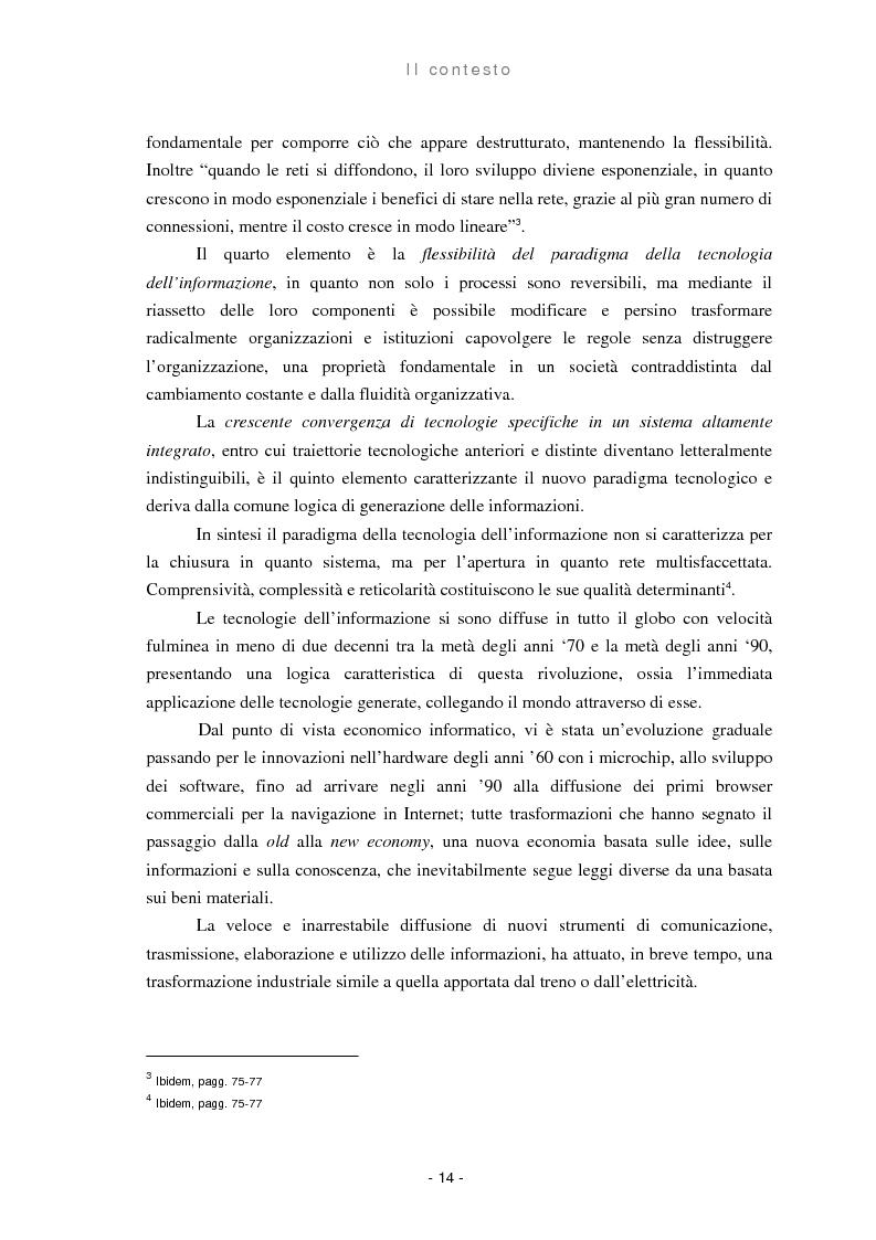 Anteprima della tesi: Il ruolo delle regioni nello sviluppo dell'e-government, Pagina 6