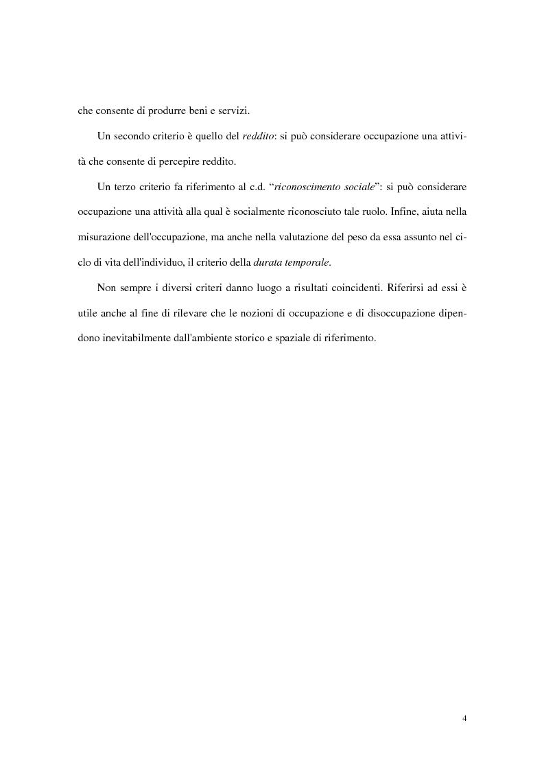 Anteprima della tesi: Divari interregionali nella disoccupazione, Pagina 8