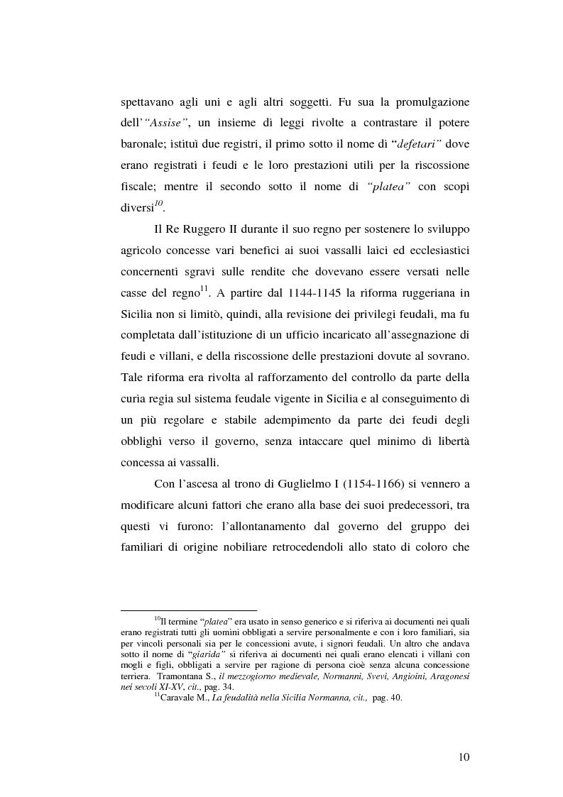 Anteprima della tesi: Il grano in Sicilia nei secoli XIII-XV, Pagina 10