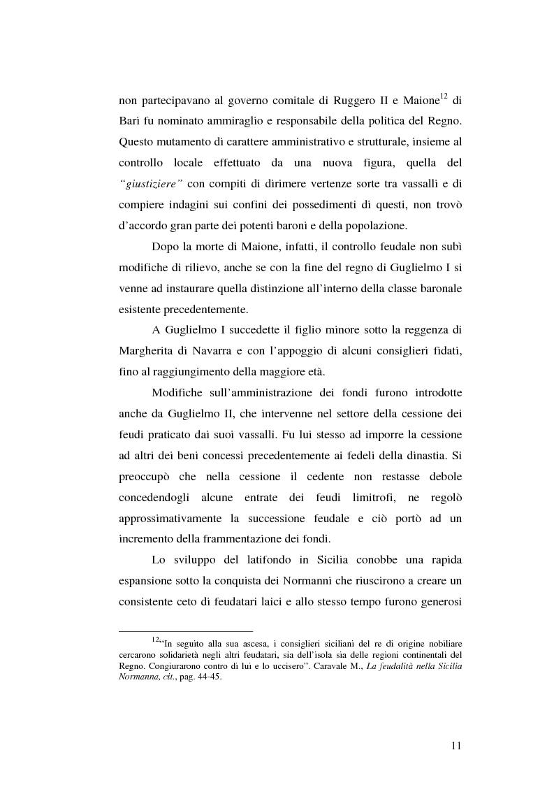 Anteprima della tesi: Il grano in Sicilia nei secoli XIII-XV, Pagina 11