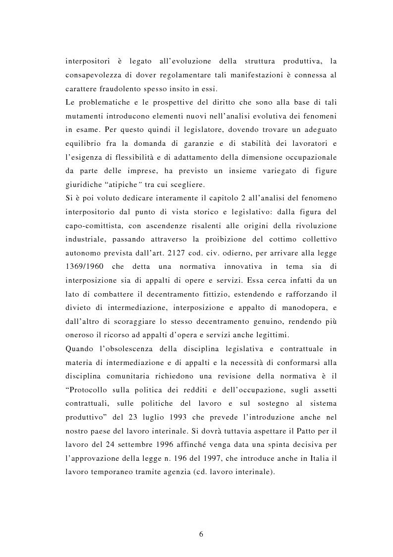 Anteprima della tesi: Il lavoro interinale, Pagina 2
