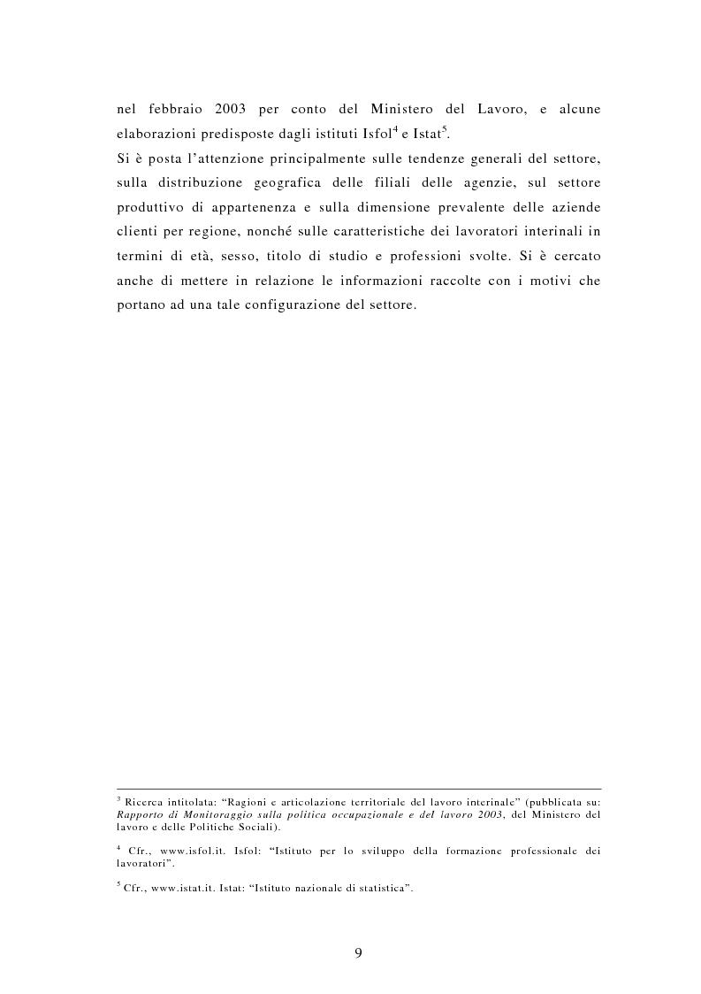 Anteprima della tesi: Il lavoro interinale, Pagina 5