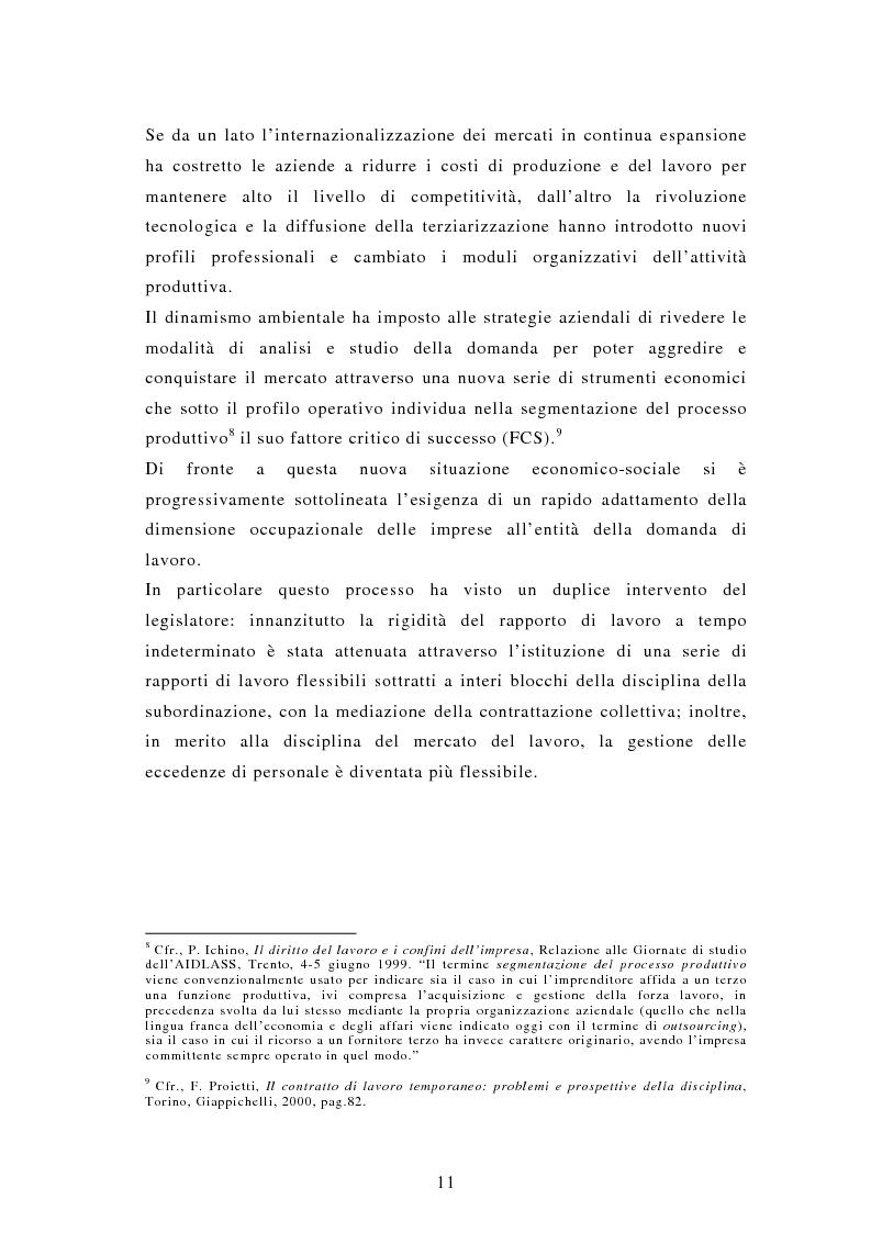 Anteprima della tesi: Il lavoro interinale, Pagina 7