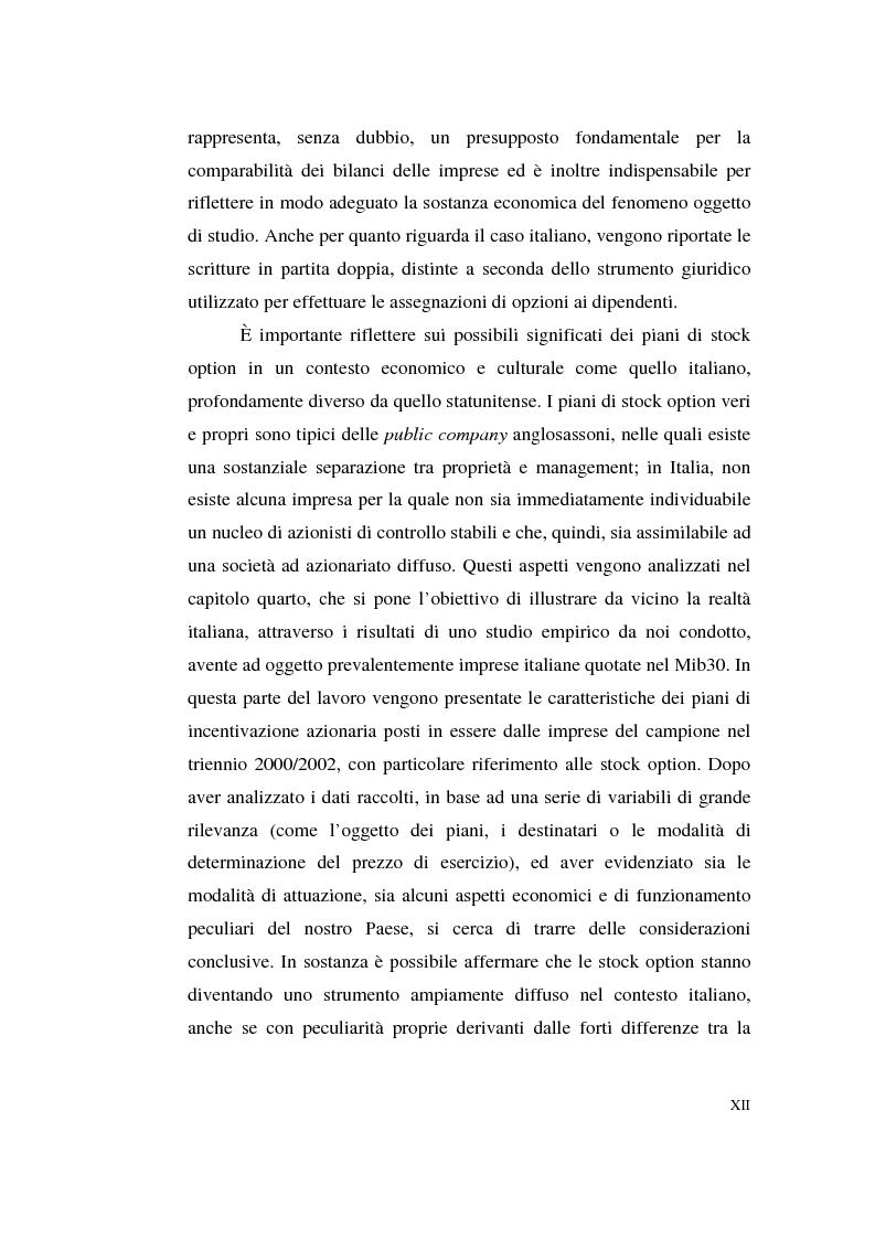 Anteprima della tesi: La contabilizzazione delle stock options, Pagina 8