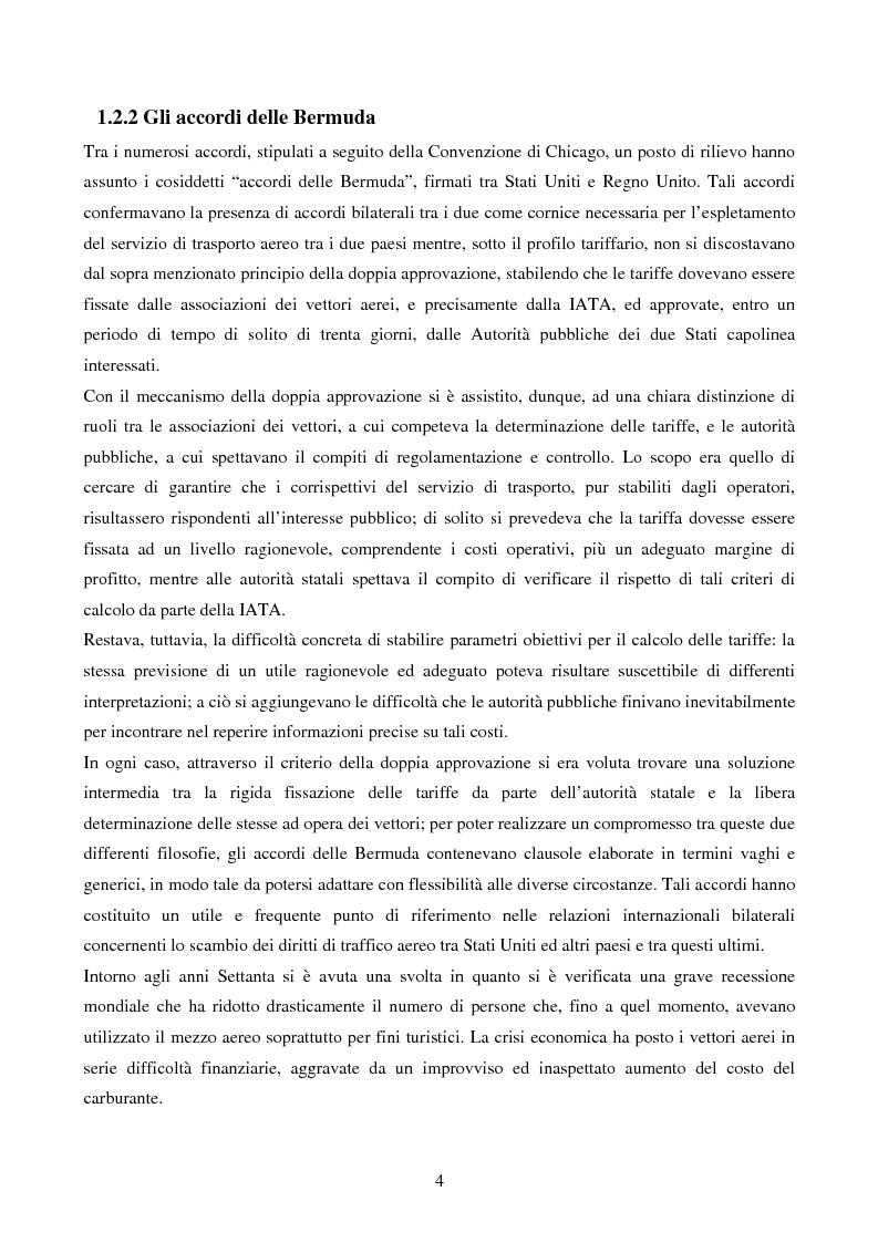 Anteprima della tesi: La competizione nel settore del trasporto aereo di passeggeri: strategie a confronto, Pagina 4