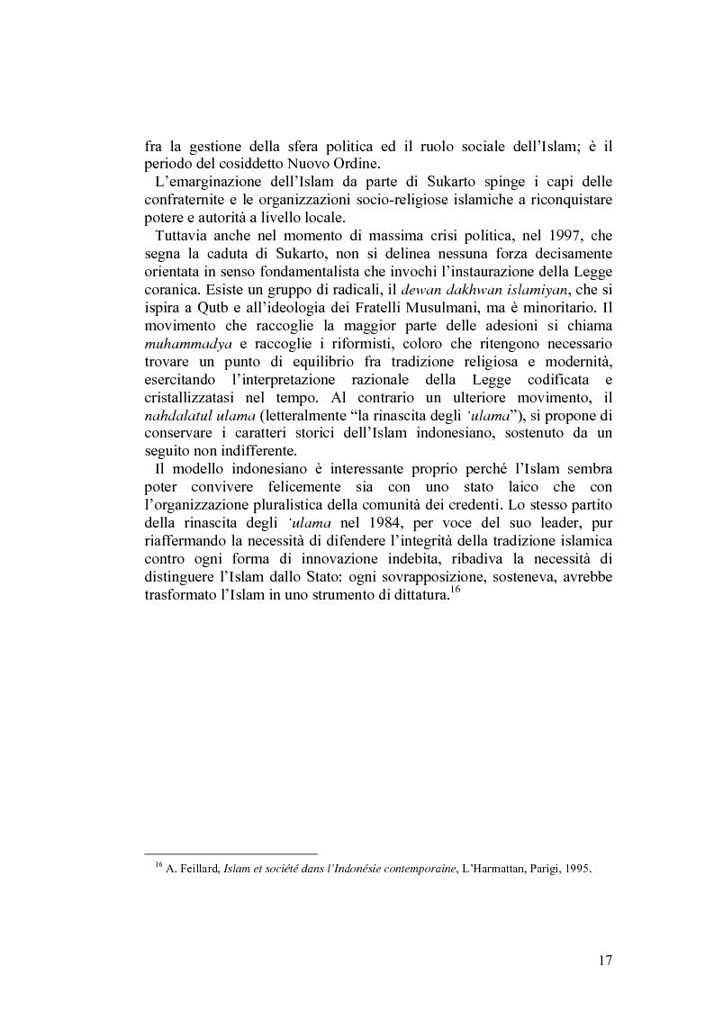 Anteprima della tesi: Costituzioni e costituzionalismo nel mondo islamico, Pagina 11