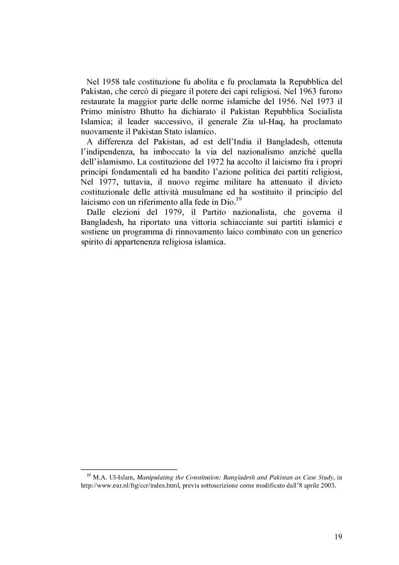 Anteprima della tesi: Costituzioni e costituzionalismo nel mondo islamico, Pagina 13