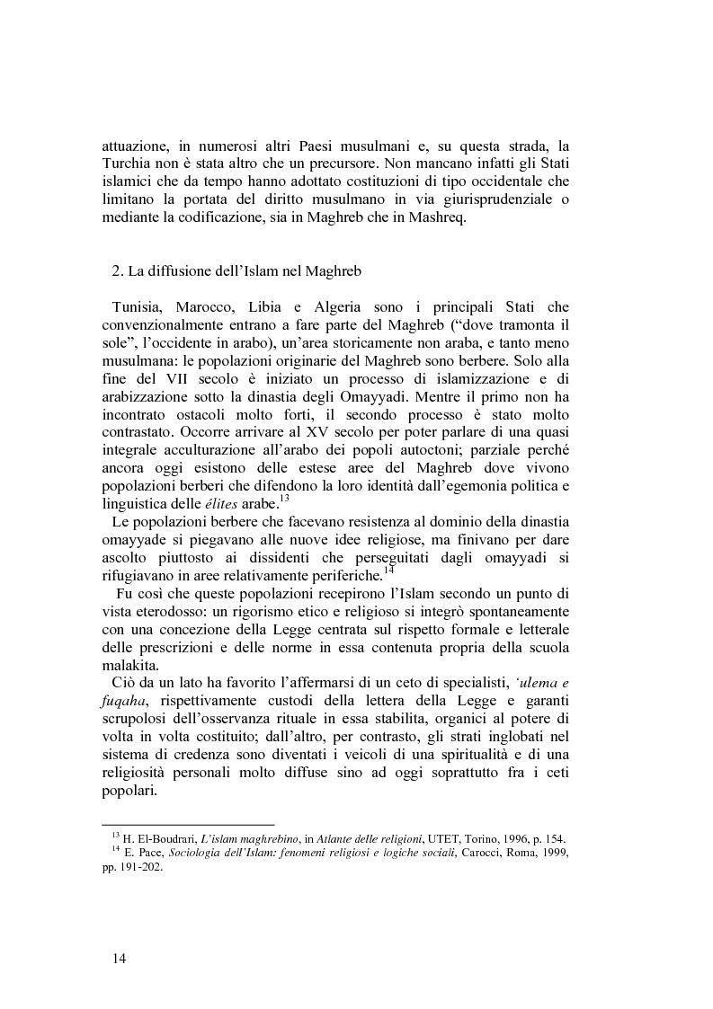 Anteprima della tesi: Costituzioni e costituzionalismo nel mondo islamico, Pagina 8