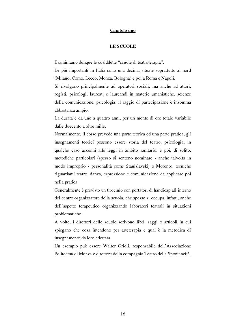 Anteprima della tesi: Teatro e disagio psichico, Pagina 14