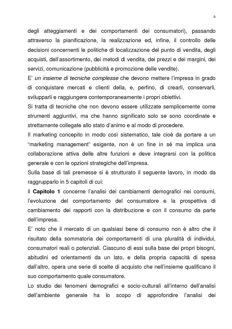 Anteprima della tesi: Il Merchandising come strumento di comunicazione nella grande distribuzione : Il gruppo Carrefour GS., Pagina 2