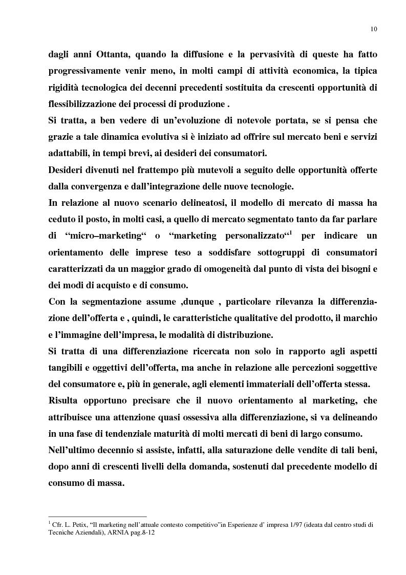Anteprima della tesi: Il Merchandising come strumento di comunicazione nella grande distribuzione : Il gruppo Carrefour GS., Pagina 6