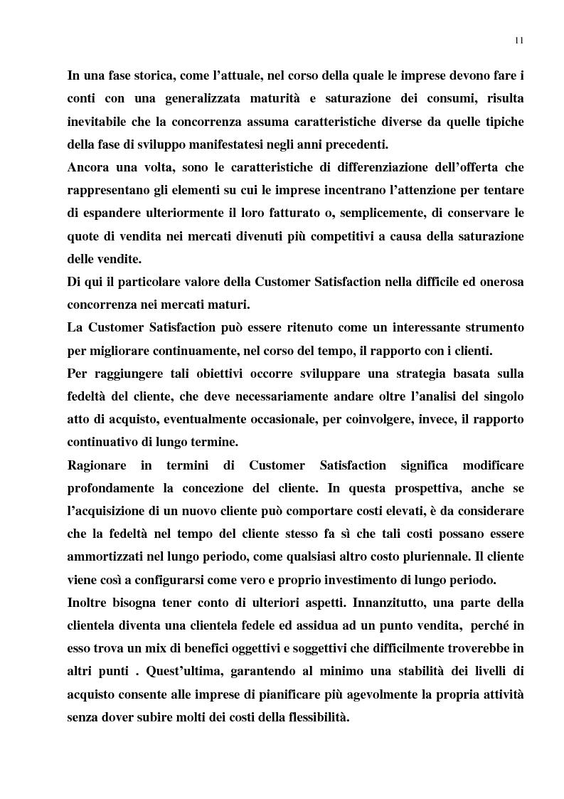 Anteprima della tesi: Il Merchandising come strumento di comunicazione nella grande distribuzione : Il gruppo Carrefour GS., Pagina 7