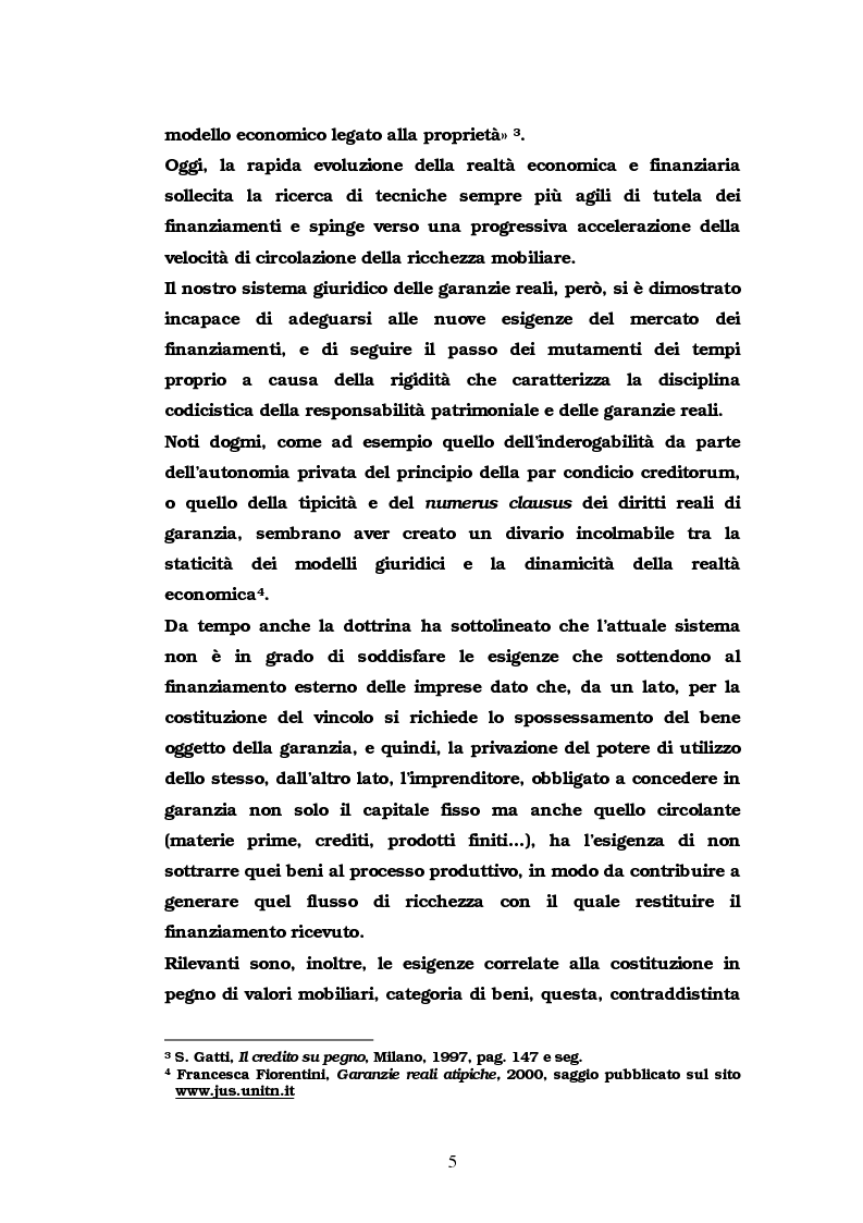 Anteprima della tesi: Il pegno rotativo, Pagina 3